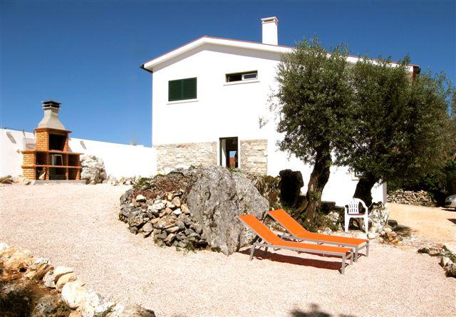 1.Villa and barbecue area